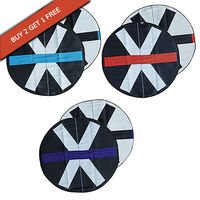 Multicultural Design Recycled Round Mats, Variety Set