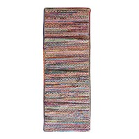 CHINDI RUNNER Indian Design Recycled Floor Runner, Large