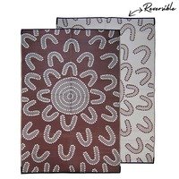 MEETING PLACE Aboriginal design reversible & recycled play mat