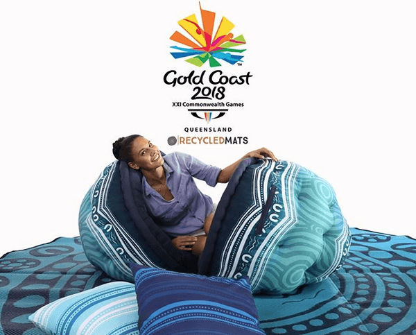 Commonwealth Games 2018 Art X Recycled Mats Collaboration Garrima products