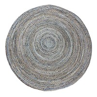 CHINDI DENIM Indian Design Recycled Floor Rug