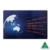 WORLDWIDE GREETINGS Multicultural Recycled Door Mat