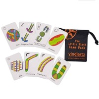 THE LITTLE BLACK GAME PACK Indigenous Symbols Educational Card Game